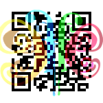 QR Code to download the #butterflyEffect android app for Twitter